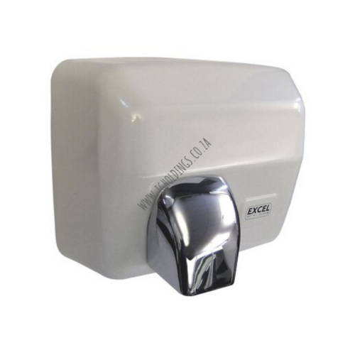 EXCEL WHITE STAINLESS STEEL HOT AIR HAND DRYER HD/02