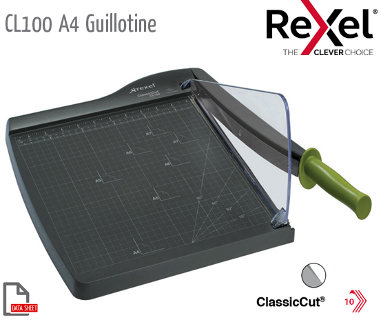 CL100 Guillotine A4 Self Sharp S/Steel Blade