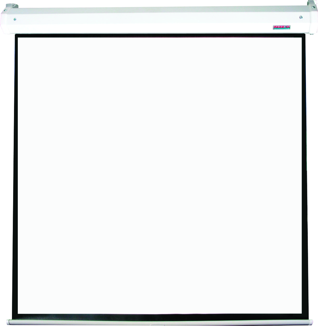 Electric Projector Screen 2440*2440mm (View: 2340*2340mm - 1:1)