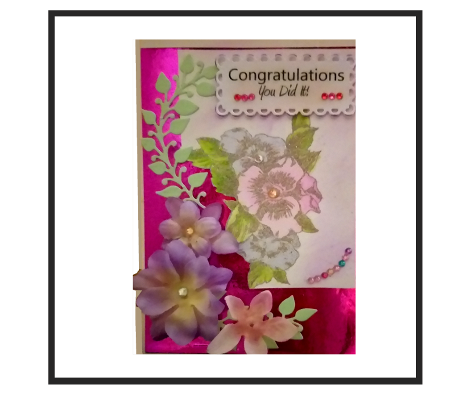 Handcrafted Congratulations Card