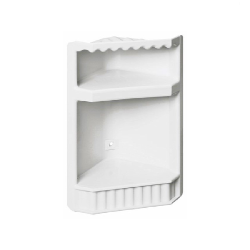 MTS HOME  PVC PLASTIC SHOWER CORNER CADDY