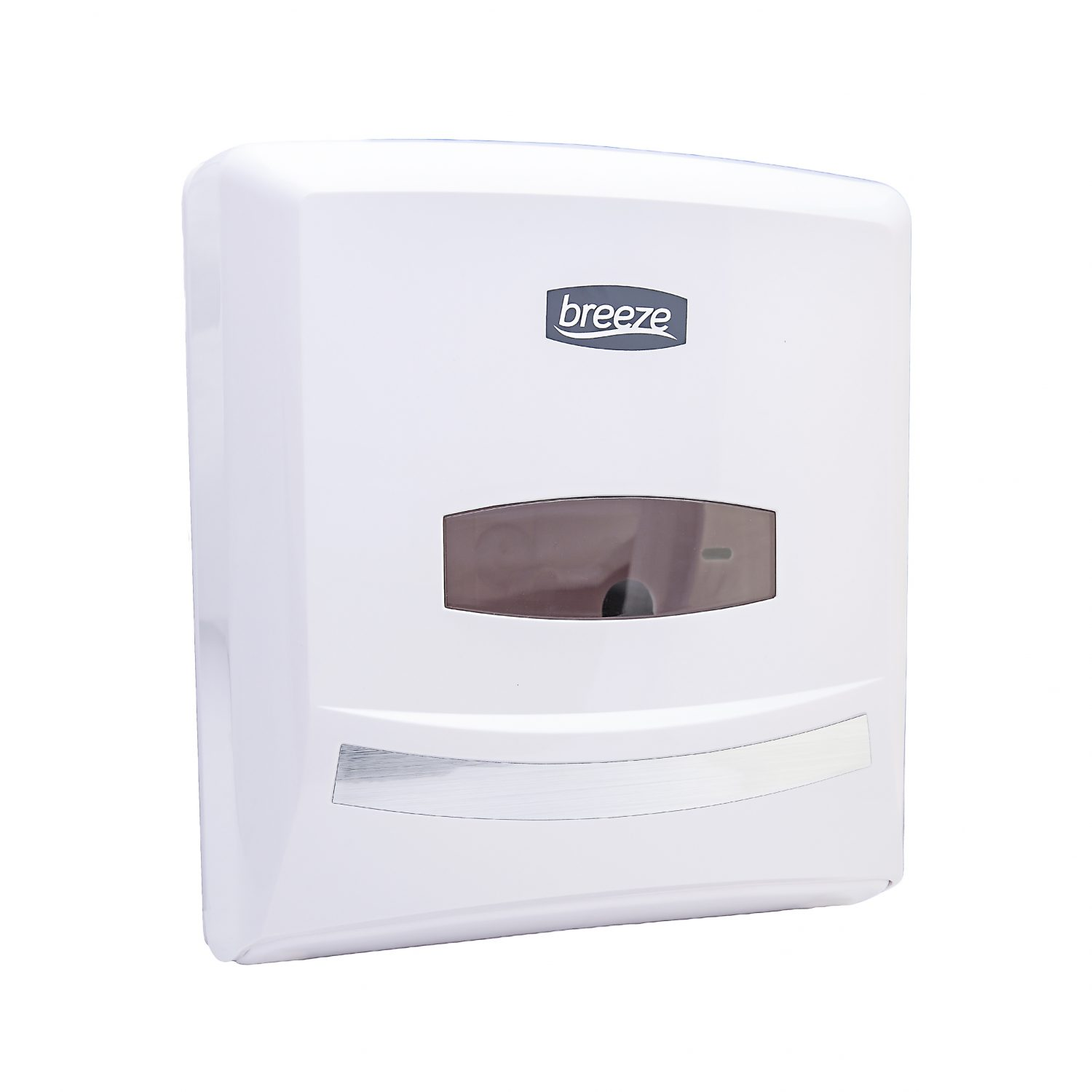 White Breeze Folded Paper towel Dispenser