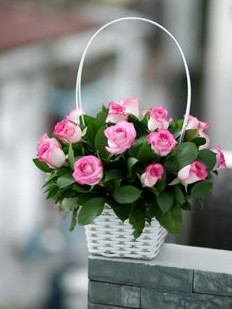 PASSION PINK BASKET
