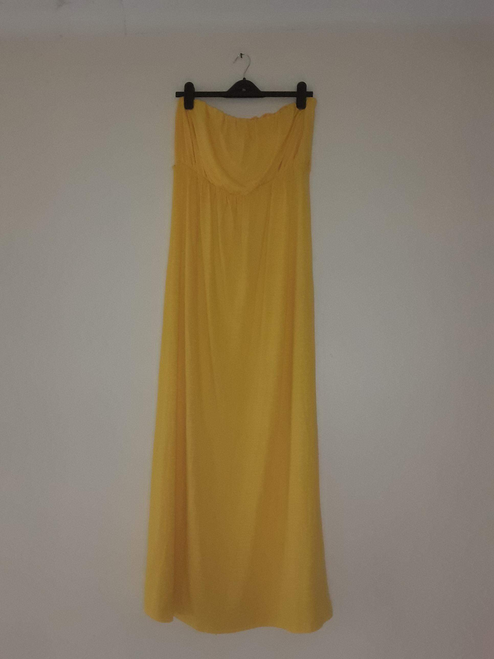 Mr Price Yellow Maxi Dress