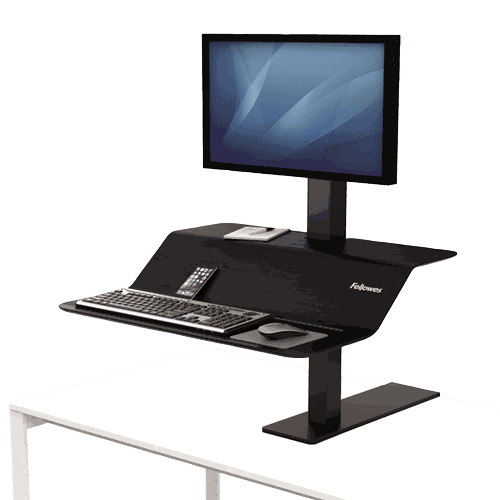 Lotus™ VE Sit-Stand Workstation – Single