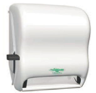 White Manual Lever Paper towel Dispenser