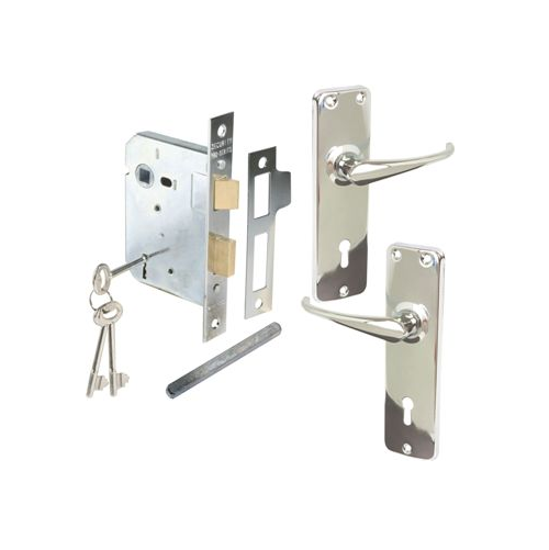 MORTICE LOCKSETS EXTRA HEAVY DUTY DIE CAST HANDLES - COMMERCIAL