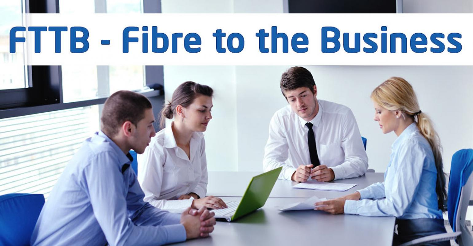 Enterprise Fibre to the business - 10mbps to 200mbps options FROM