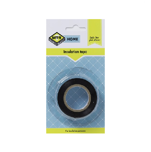 MTS HOME BLACK INSULATION TAPE 10M