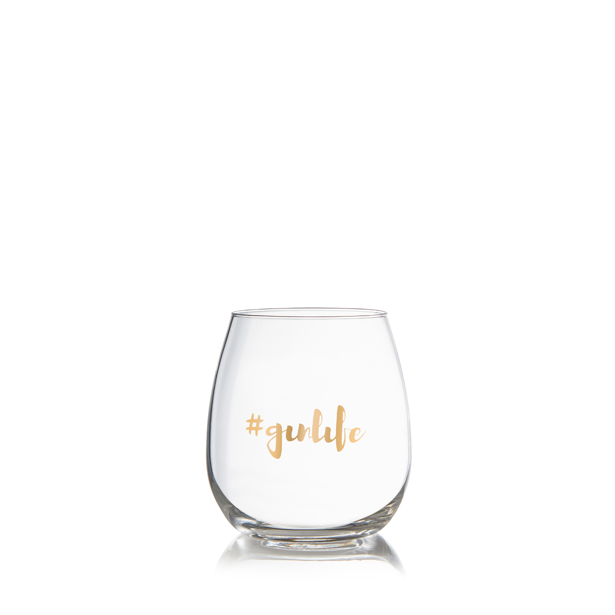 Glassware - Gin Tumblers 2 Pack: Gold #ginlife