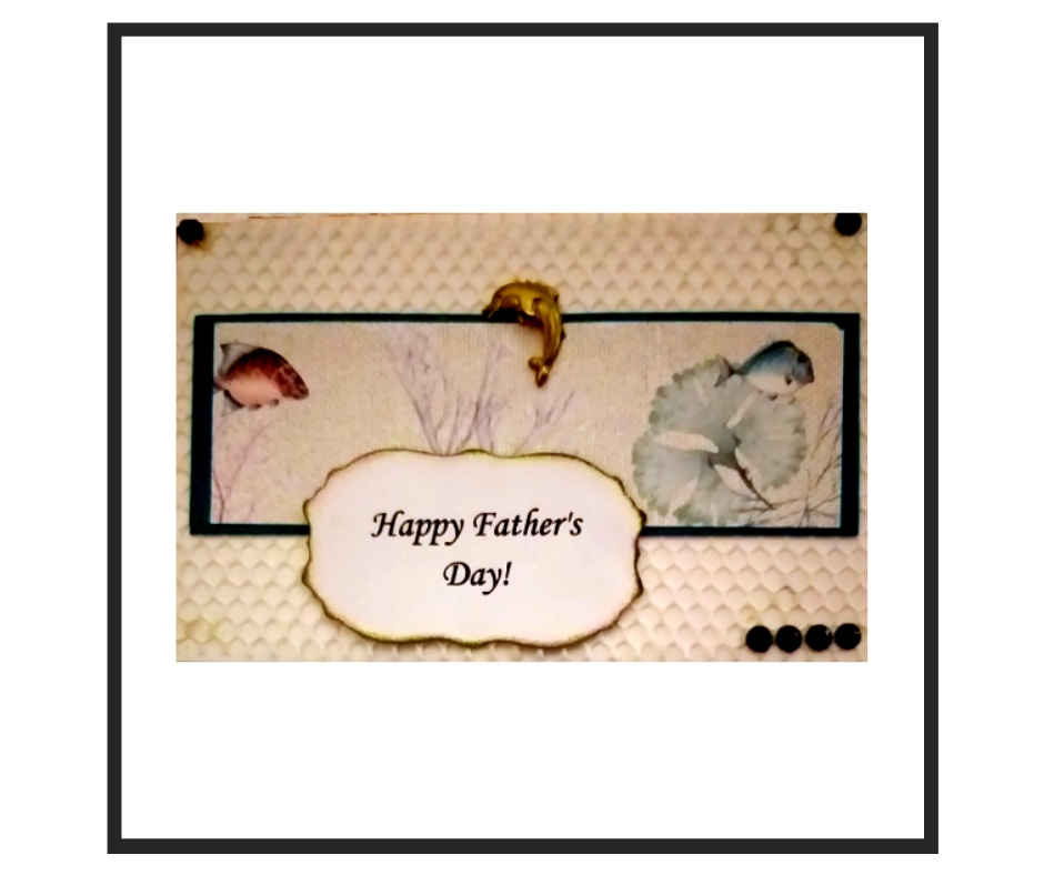 Handcrafted Father's Card