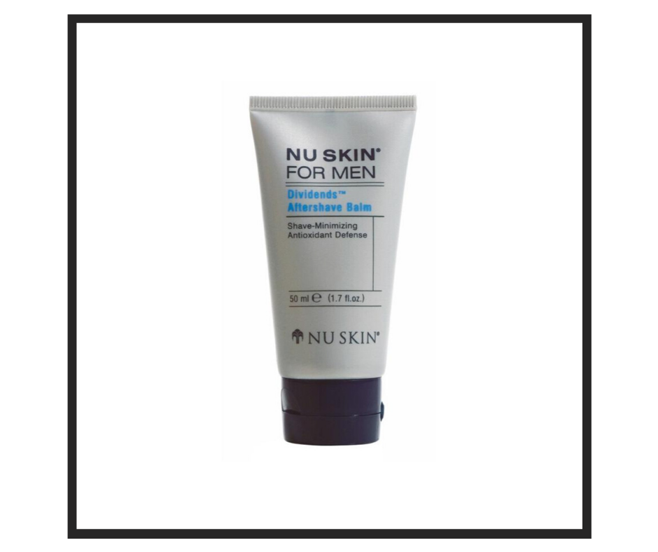 Dividends Aftershave Balm for Men from Nu Skin