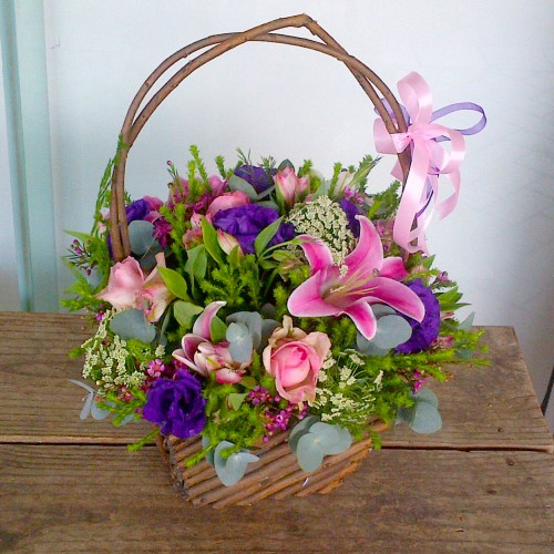 Mixed Colourful Basket
