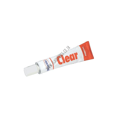BOSTIK CLEAR ADHESIVE TUBE