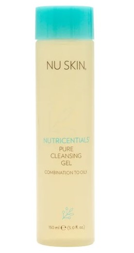 Nu Skin Nutricentials Gel Cleanser Combination to Oily Skin