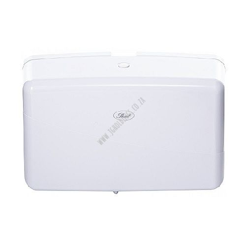 PEARL WHITE COMPACT MULTIFOLD PAPER TOWEL DISPENSER HD/05
