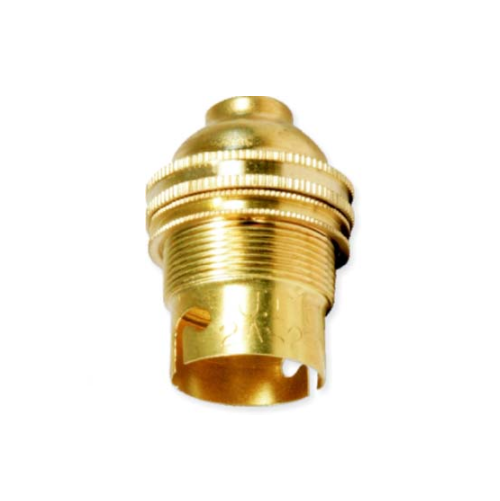 MTS BRASS LAMP HOLDER 10MM - BAYONET