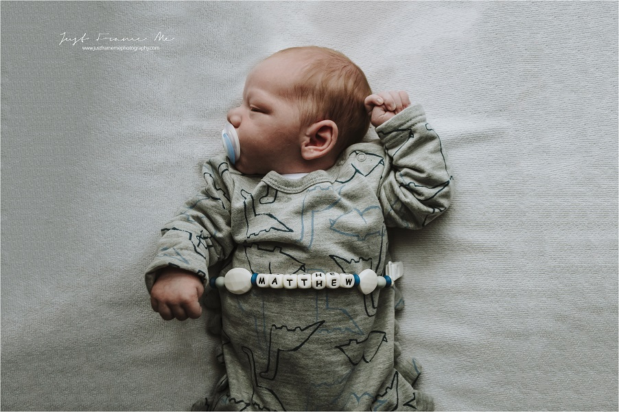 Meet Baby Brother Matthew {A Newborn Lifestyle Session}