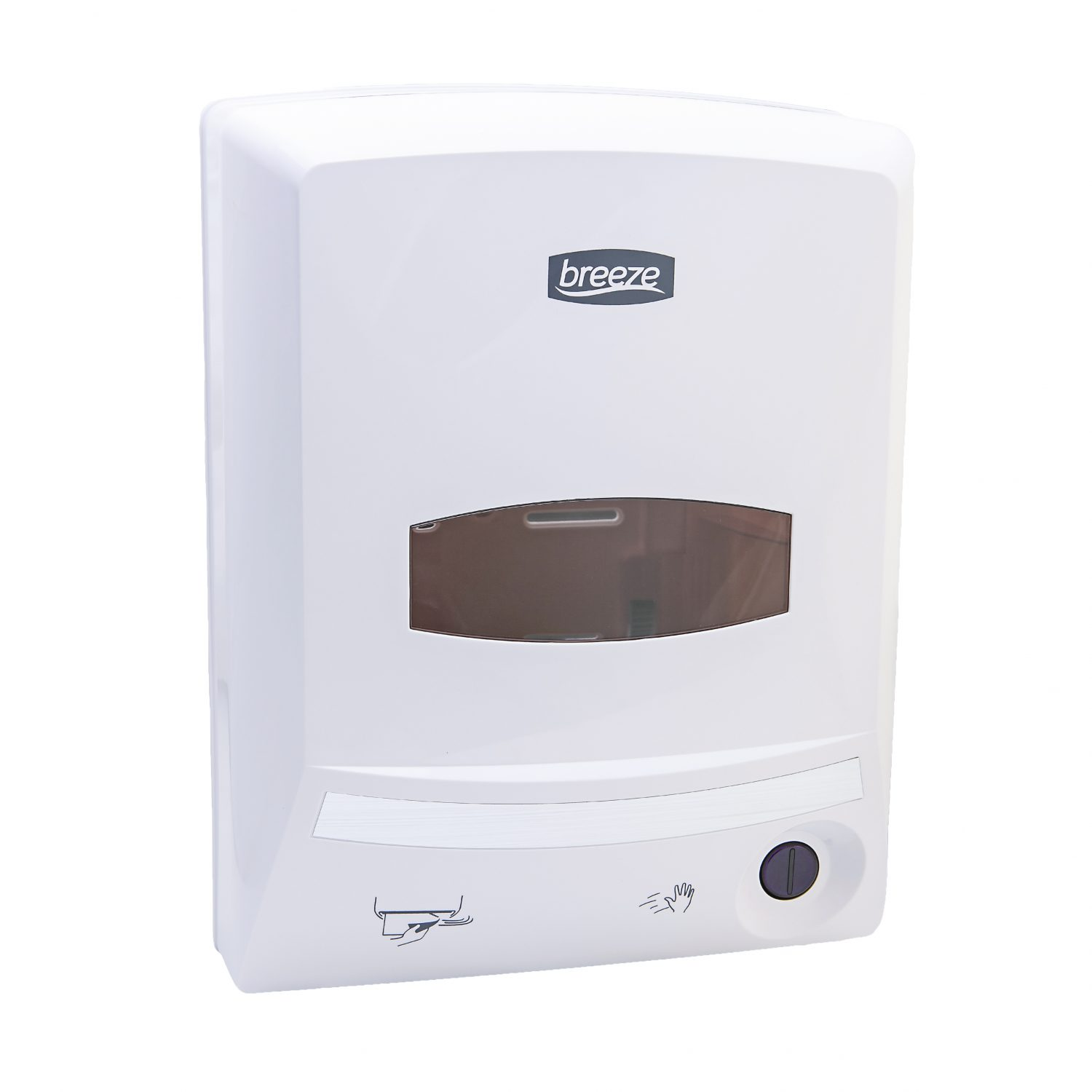 White Breeze Automatic Paper towel Dispenser