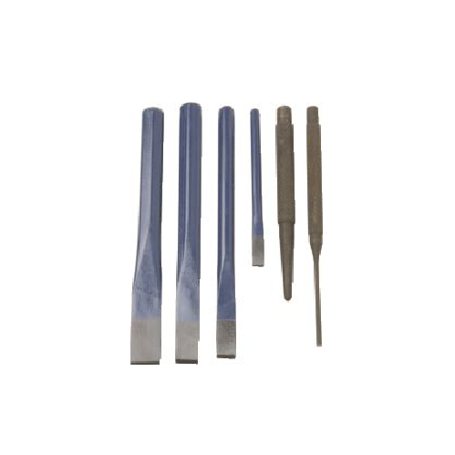 MITCO CHISEL AND PUNCH SET - 6 PIECE