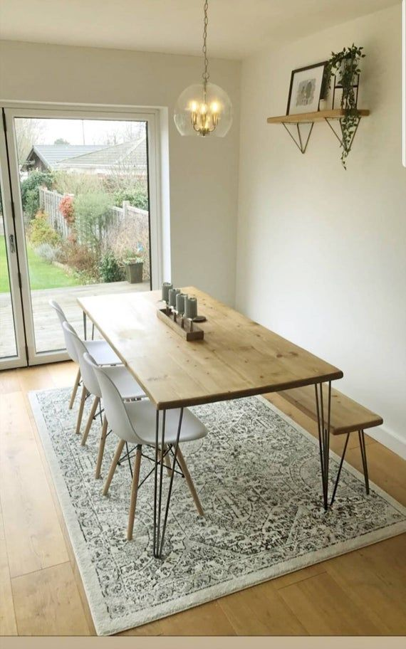 Bloka Pin Dining Table