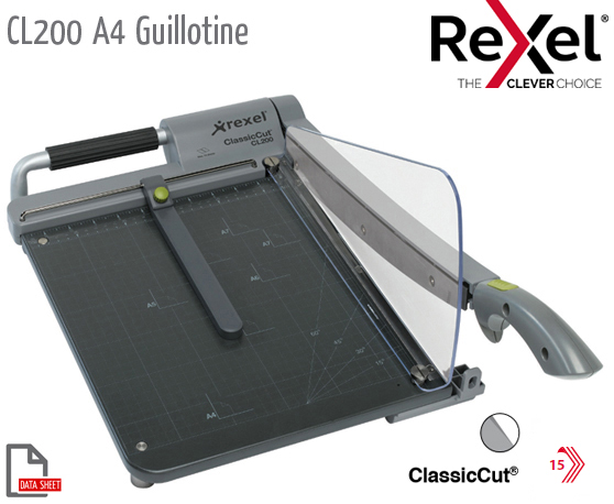 CL200 Guillotine A4 Self Sharp S/Steel Blade