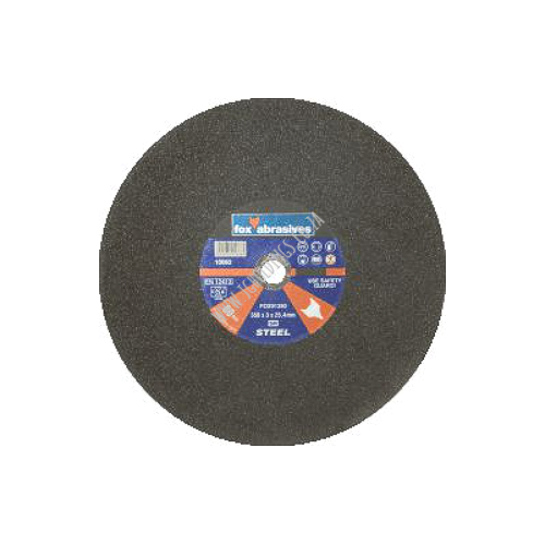 FOX ABRASIVE SINGLE REINFORCED STEEL CUTTING WHEELS / DISC