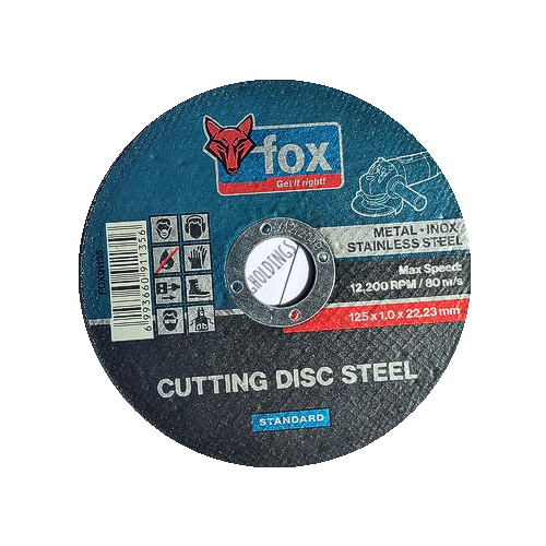 FOX ABRASIVE STEEL CUTTING WHEEL / DISC STD/PRO