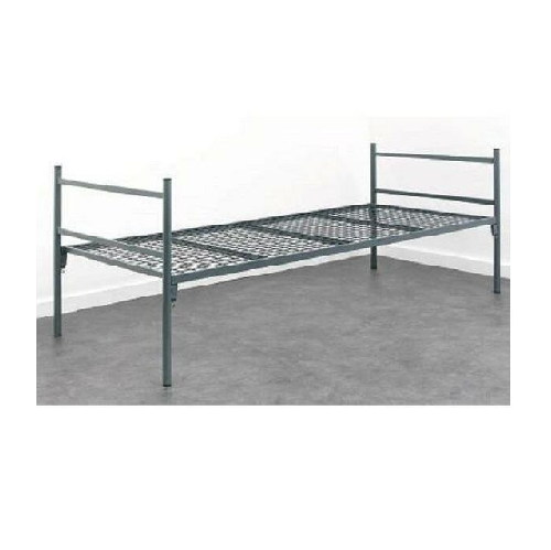 SINGLE STEEL BED FRAME ONLY