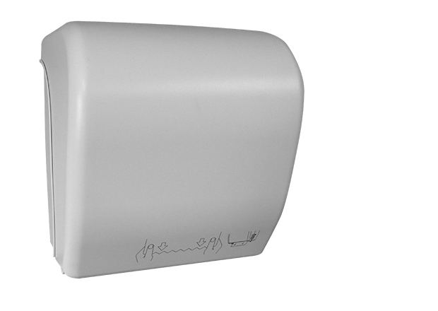 White Auto Cut Paper towel Dispenser