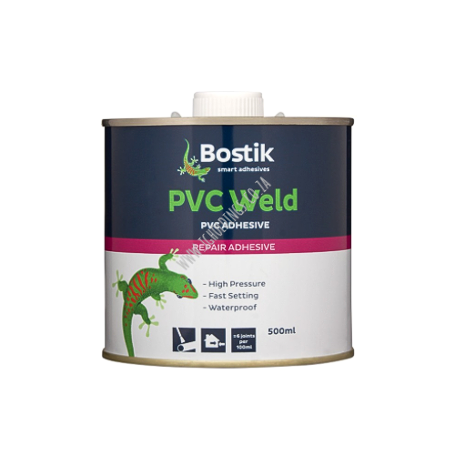 BOSTIK PVC WELD ADHESIVE 500ML
